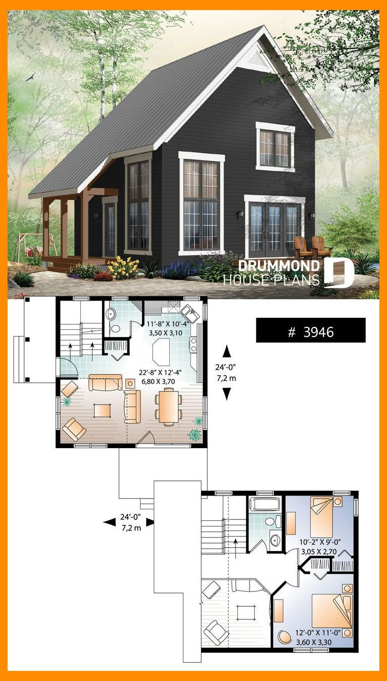 Design Small House Plans Luxury Tiny Cabin Design Plan Tiny House Plans