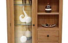 Display Cabinets With Glass Doors Best Of Canton Oak Bination Display Cabinet With Storage And Glass Door