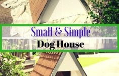 Dog House Plans For Small Dogs Inspirational 21 Awesome Diy Dog Houses With Free Step By Step Plans