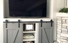 Entertainment Cabinet With Doors Fresh Barn Doors For A Built In Entertainment Center