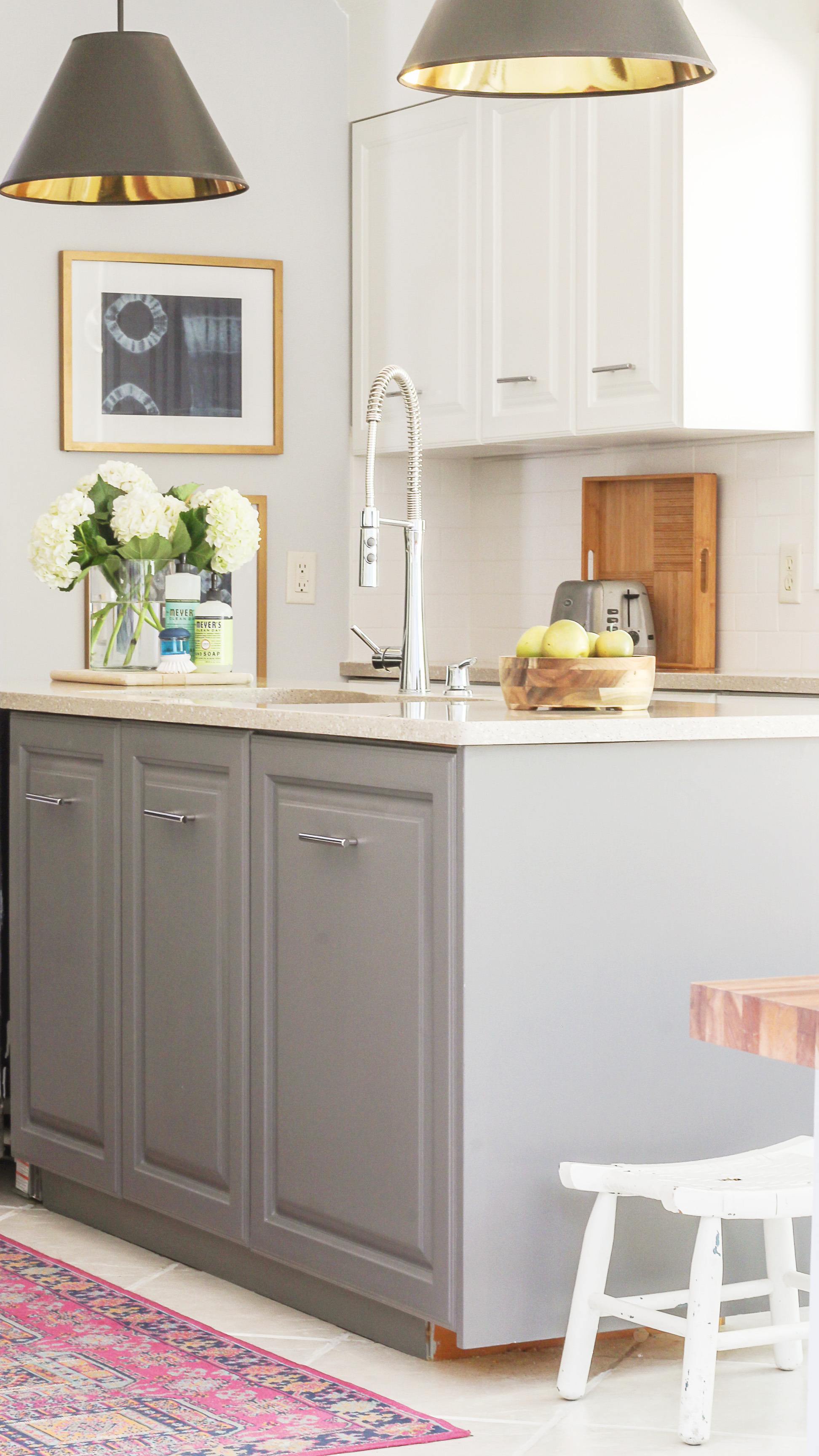 painting kitchen cabinets with milk paint 2