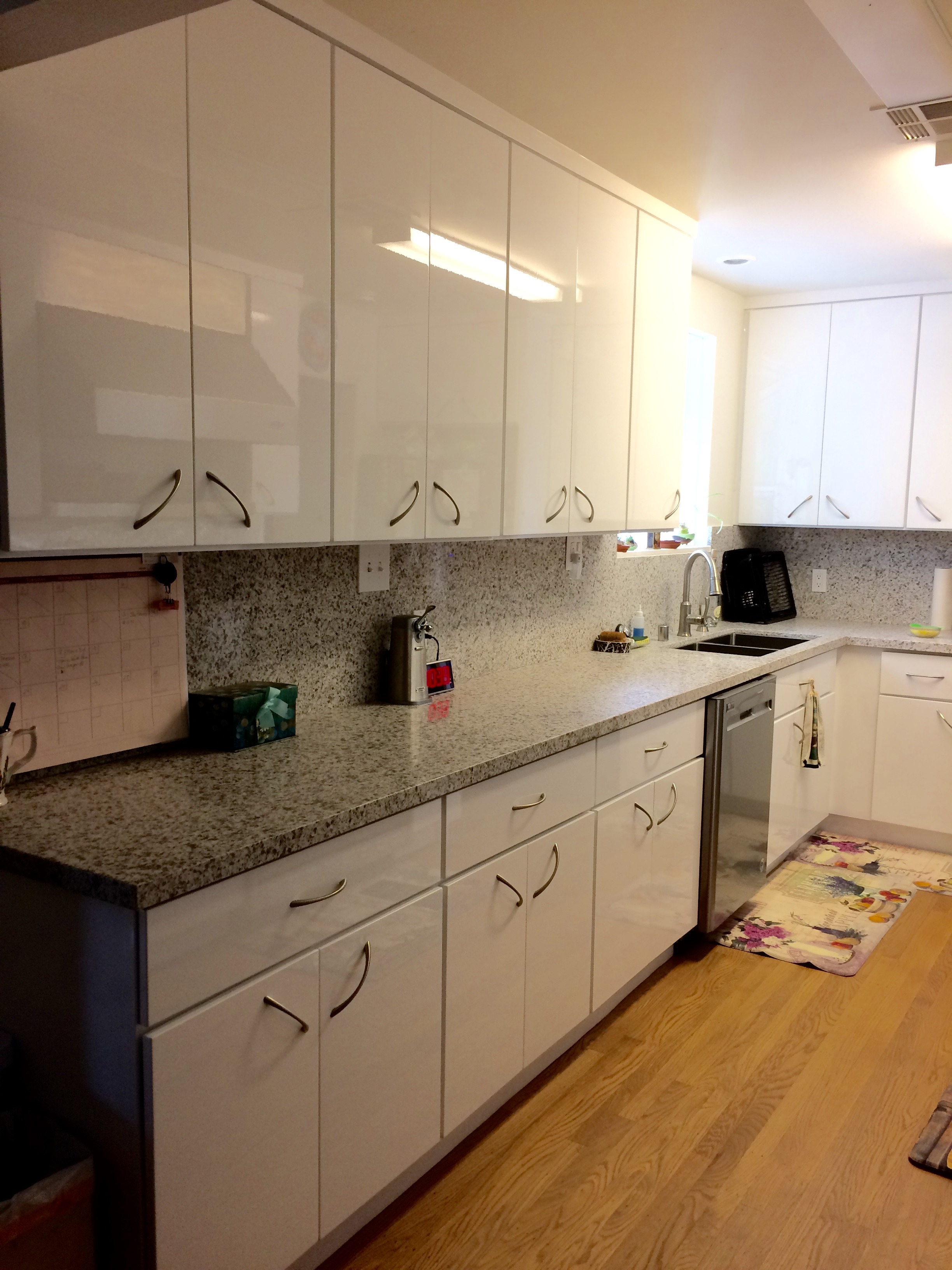 Flat Cabinet Doors Best Of Discontinued High Gloss White Flat Slab Panel Cabinets