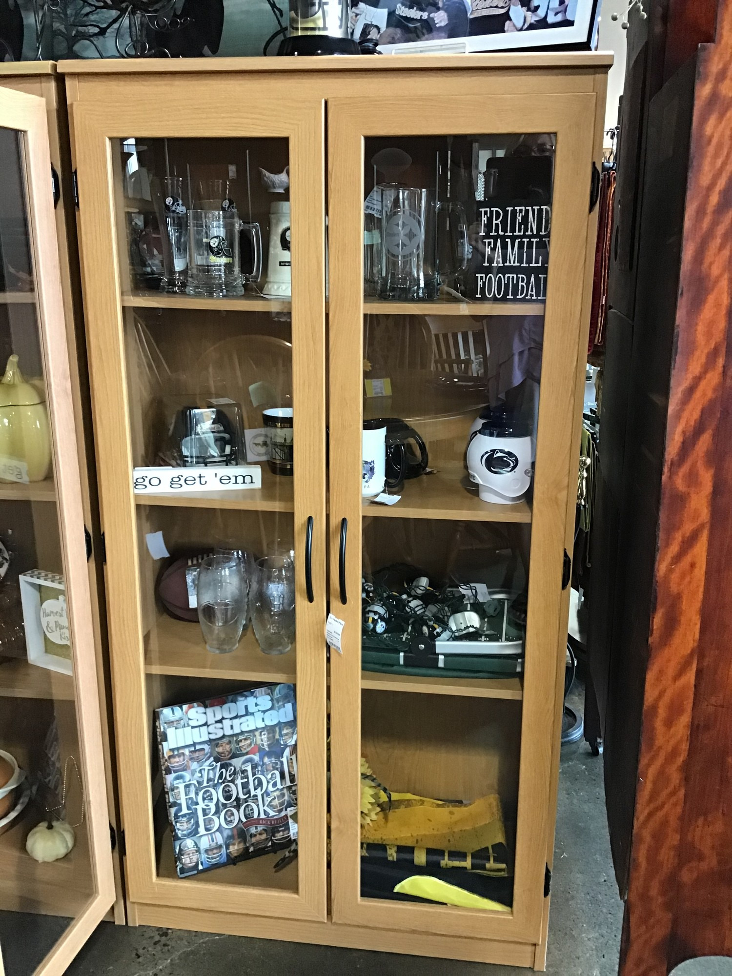 glass front cabinet id=7127