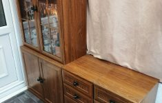 Floor Cabinet With Glass Doors Lovely Glass Display Cabinet With Drawer Set X2
