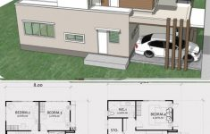 Floor Plans To Build A House Best Of Home Design Plan 8x13m With 4 Bedrooms Casaspequeñas
