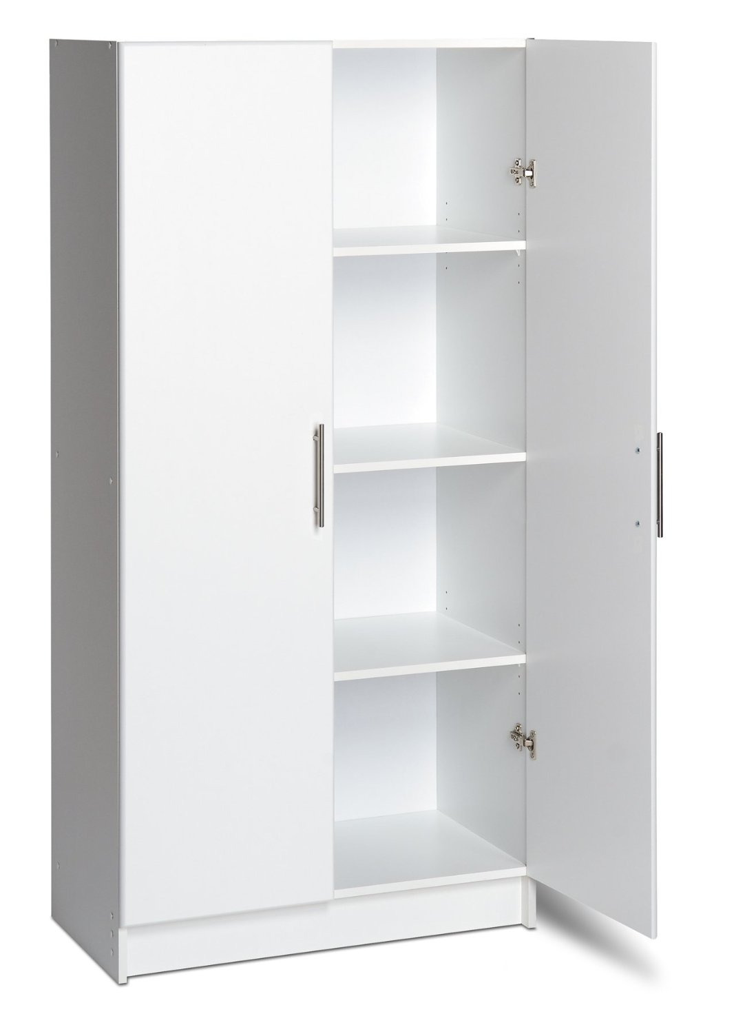 Food Storage Cabinet with Doors Luxury White Kitchen Pantry Cabinet to Store and organize the Kitchen