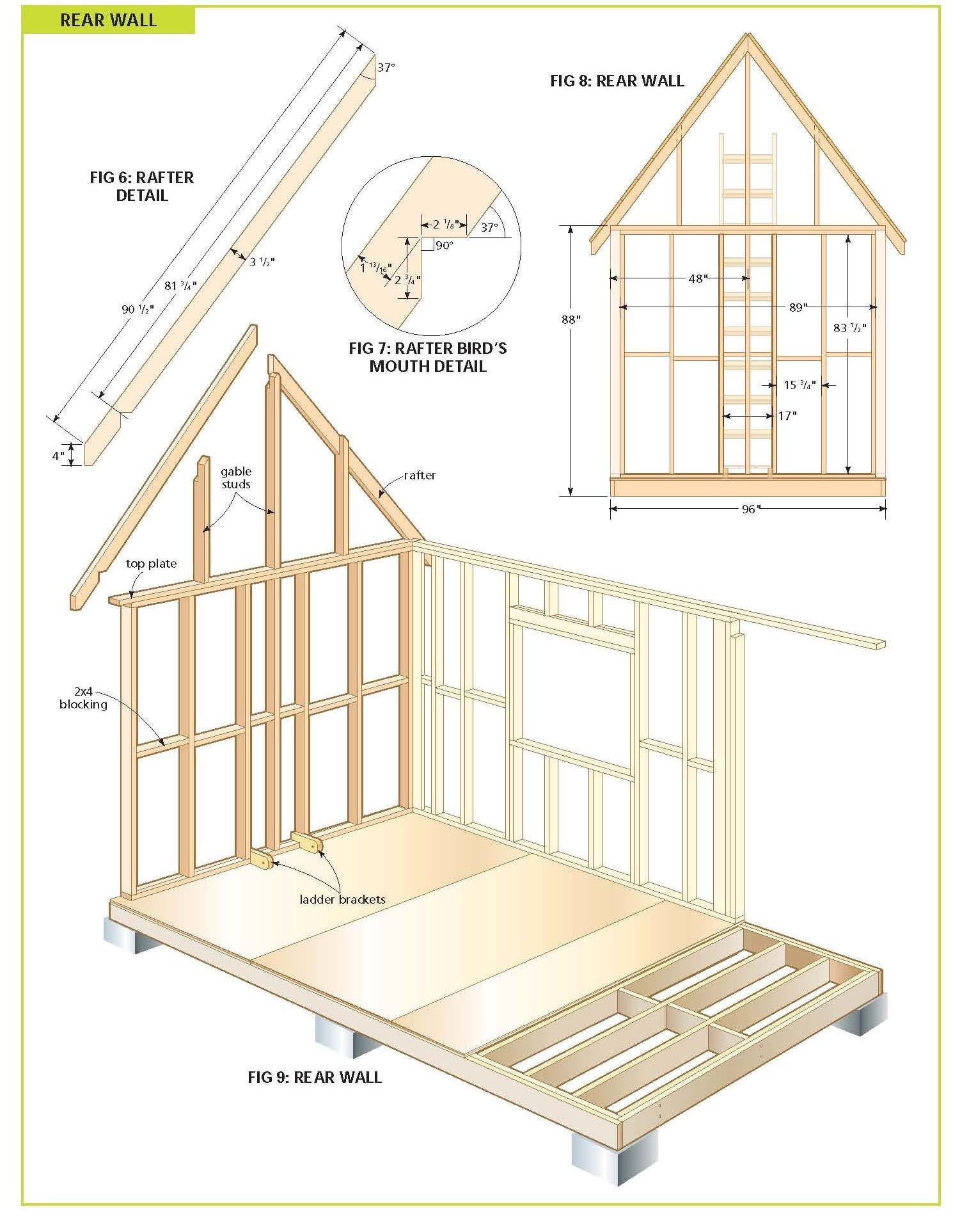 Free House Construction Plans New Free Wood Cabin Plans Step by Step Guide to Building A Tiny