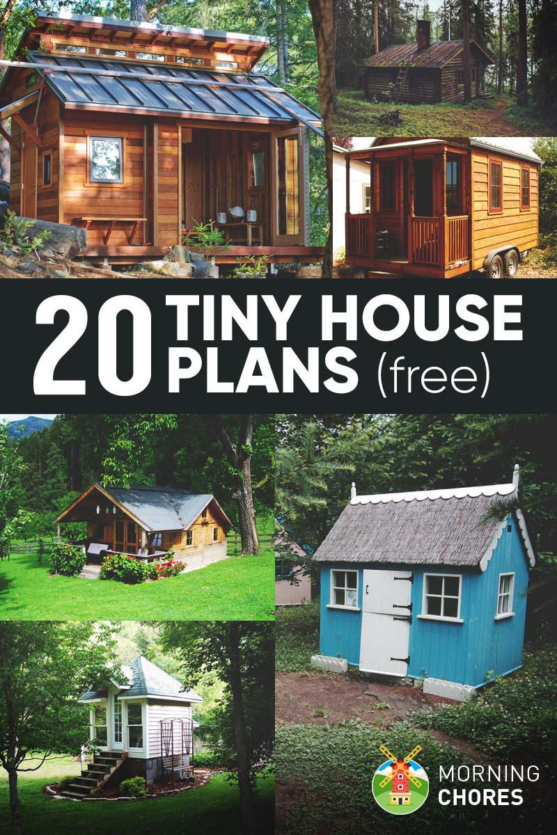 Free House Plans for Small Houses Unique 20 Free Diy Tiny House Plans to Help You Live the Small