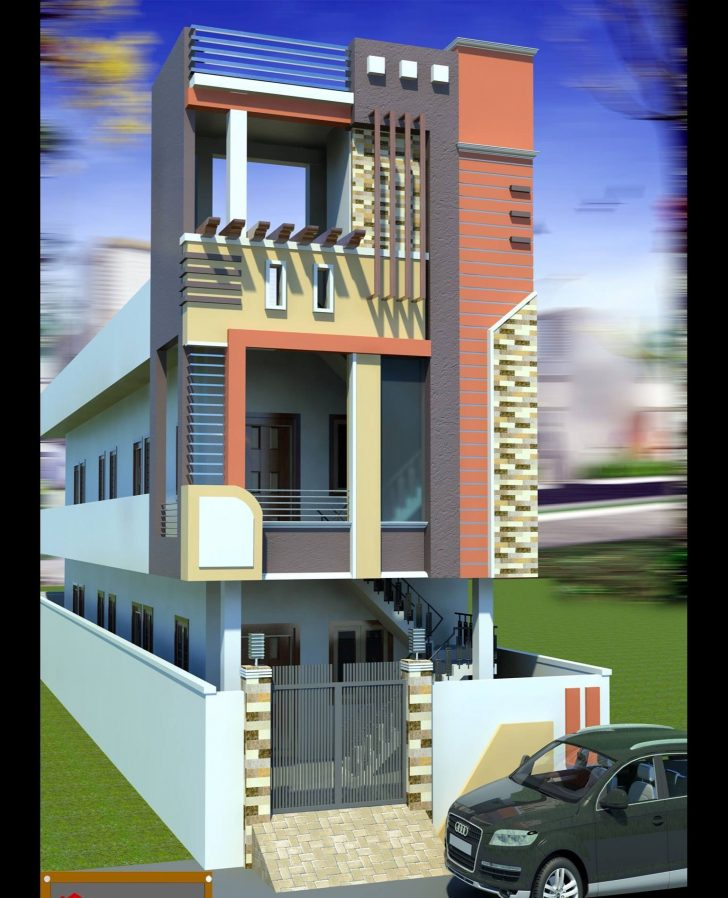Front View House Designs Images 2020