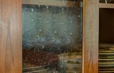 Glass Panels For Cabinet Doors Beautiful Warm Earthy Kitchen