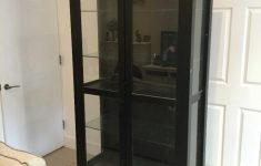 Hemnes Glass Door Cabinet Beautiful Glass Cabinet Doors Ikea Hemnes Glass Door Cabinet Black Brown Ikea With Internal Lights In Lewisham London