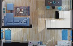 House Design Top View Best Of Modern House Rooms Top View 3d Rendering Stock
