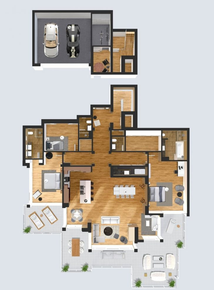 House Design top View 2021
