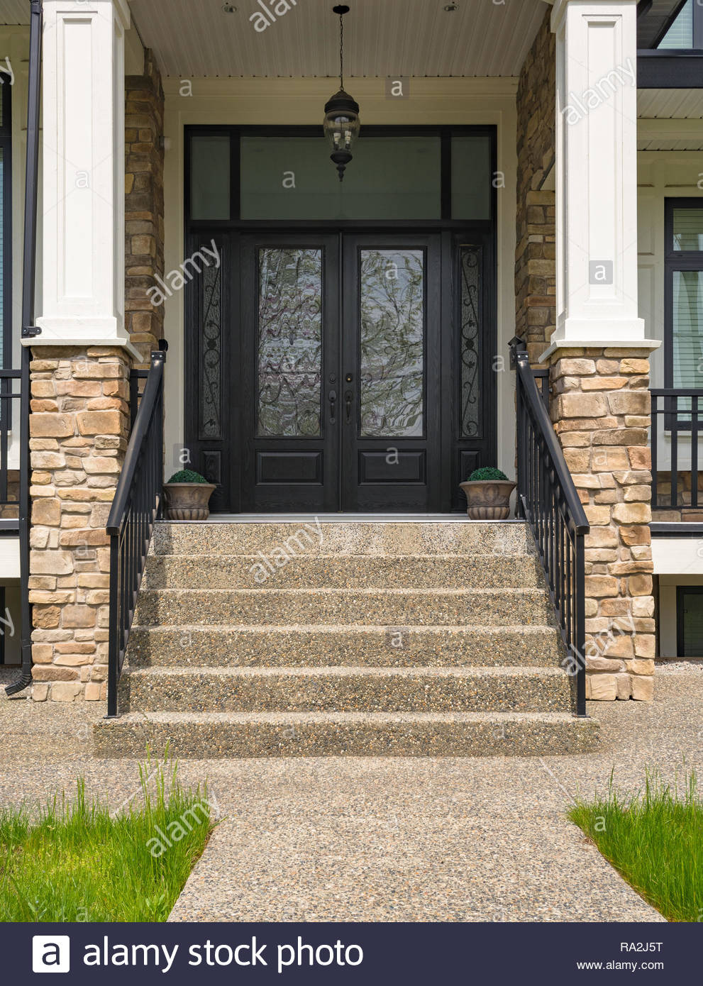 House Main Entrance Design Beautiful Main Entrance Of Residential House with Door Steps and