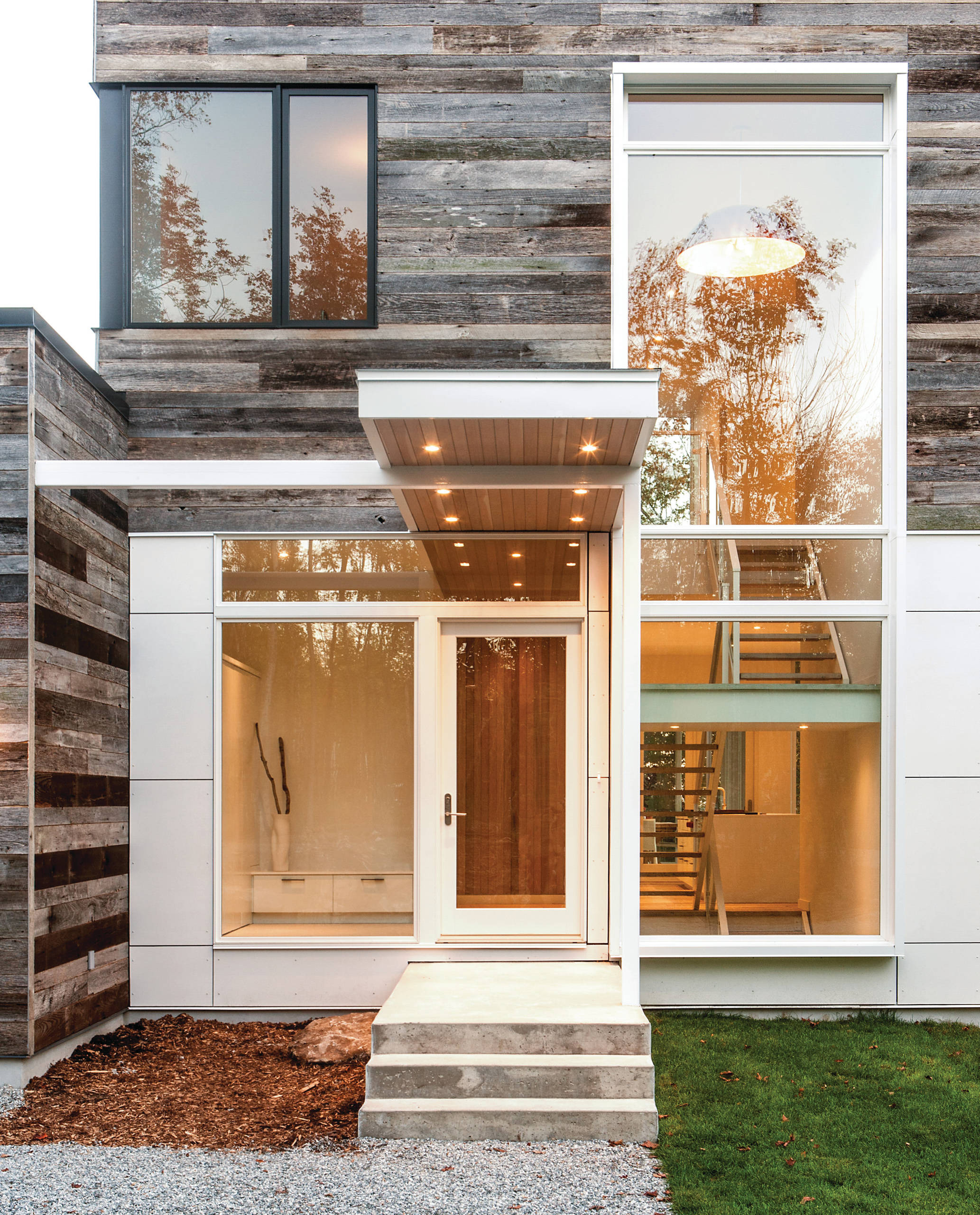16 Enchanting Modern Entrance Designs That Boost The Appeal The Home 9