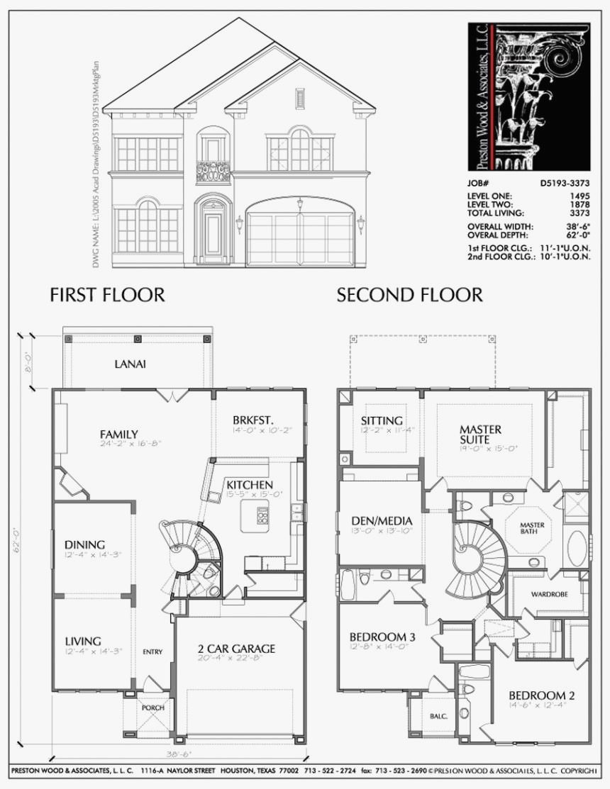 autocad house drawing 17