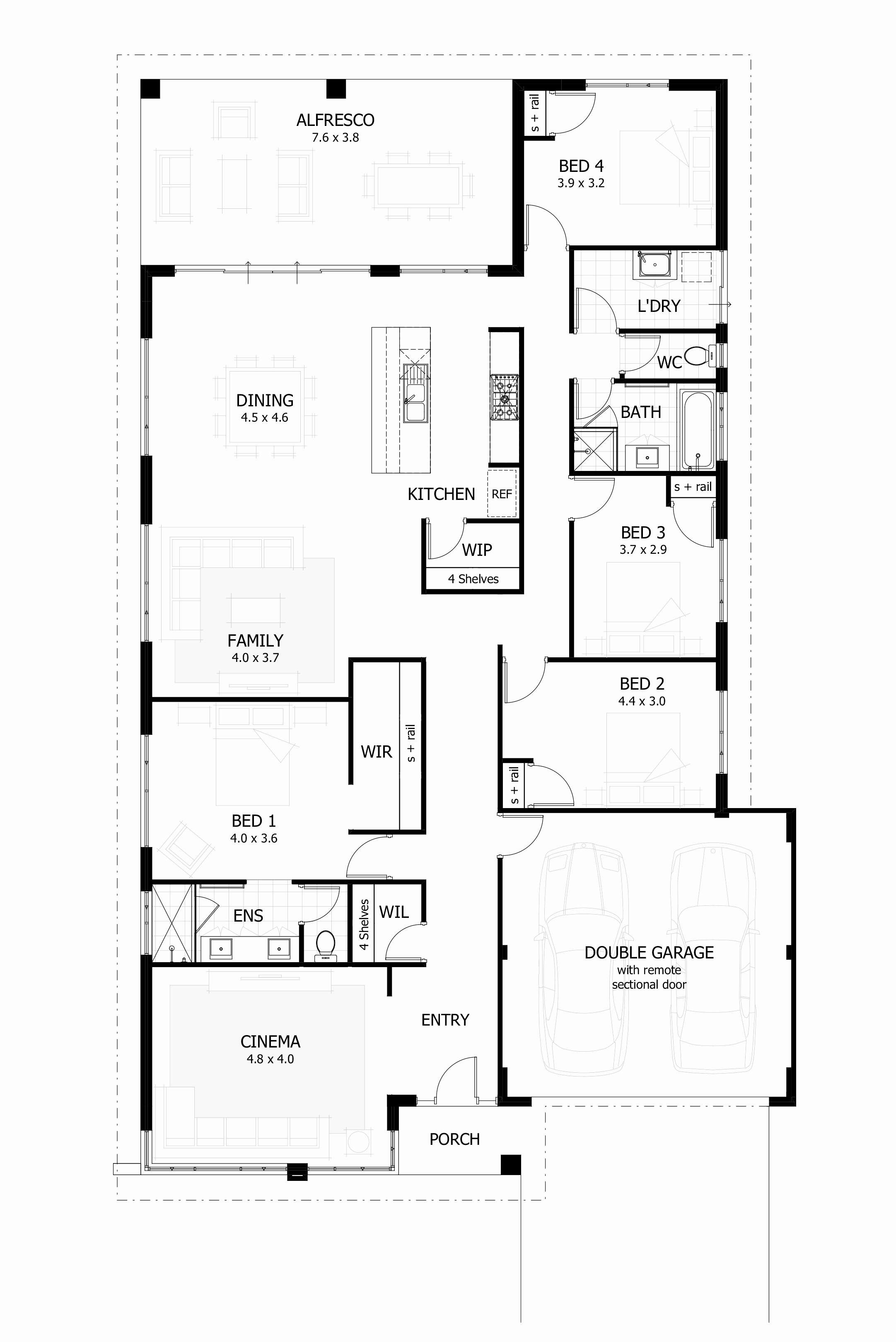 beautiful 4 bedroom house plans pdf free unique 3 bedroom house plans with regard to house plans free