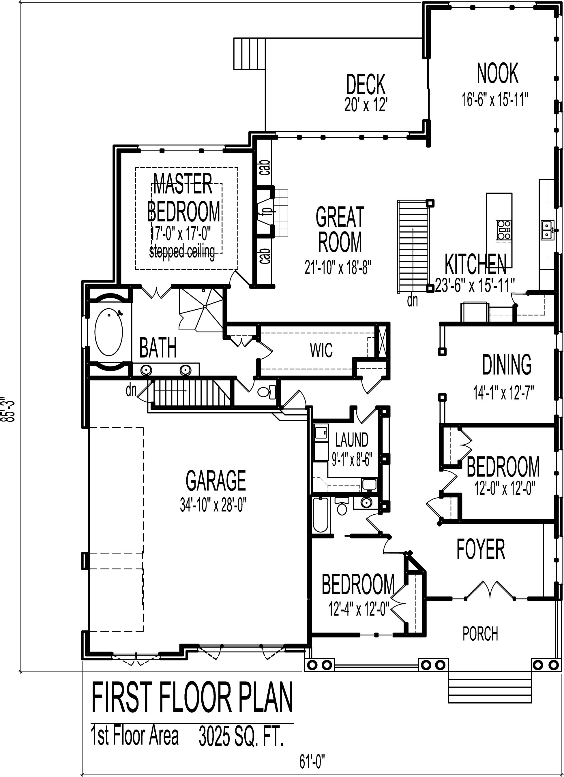 autocad house drawing 14