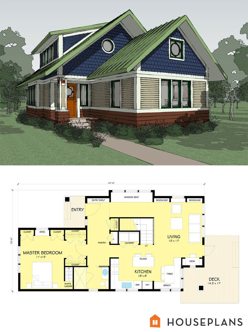 House Plans for Craftsman Style Homes Inspirational Craftsman Style House Plan 2 Beds 2 Baths 1600 Sq Ft Plan