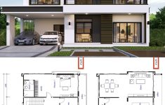 House Plans With Floor Plans New House Design Plan 13x9 5m With 3 Bedrooms