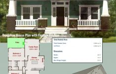 House With Porch Plans Awesome Plan Ph Bungalow House Plan With Flexible Kitchen