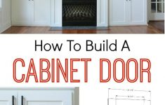 How To Make Kitchen Cabinet Doors New How To Build A Cabinet Door