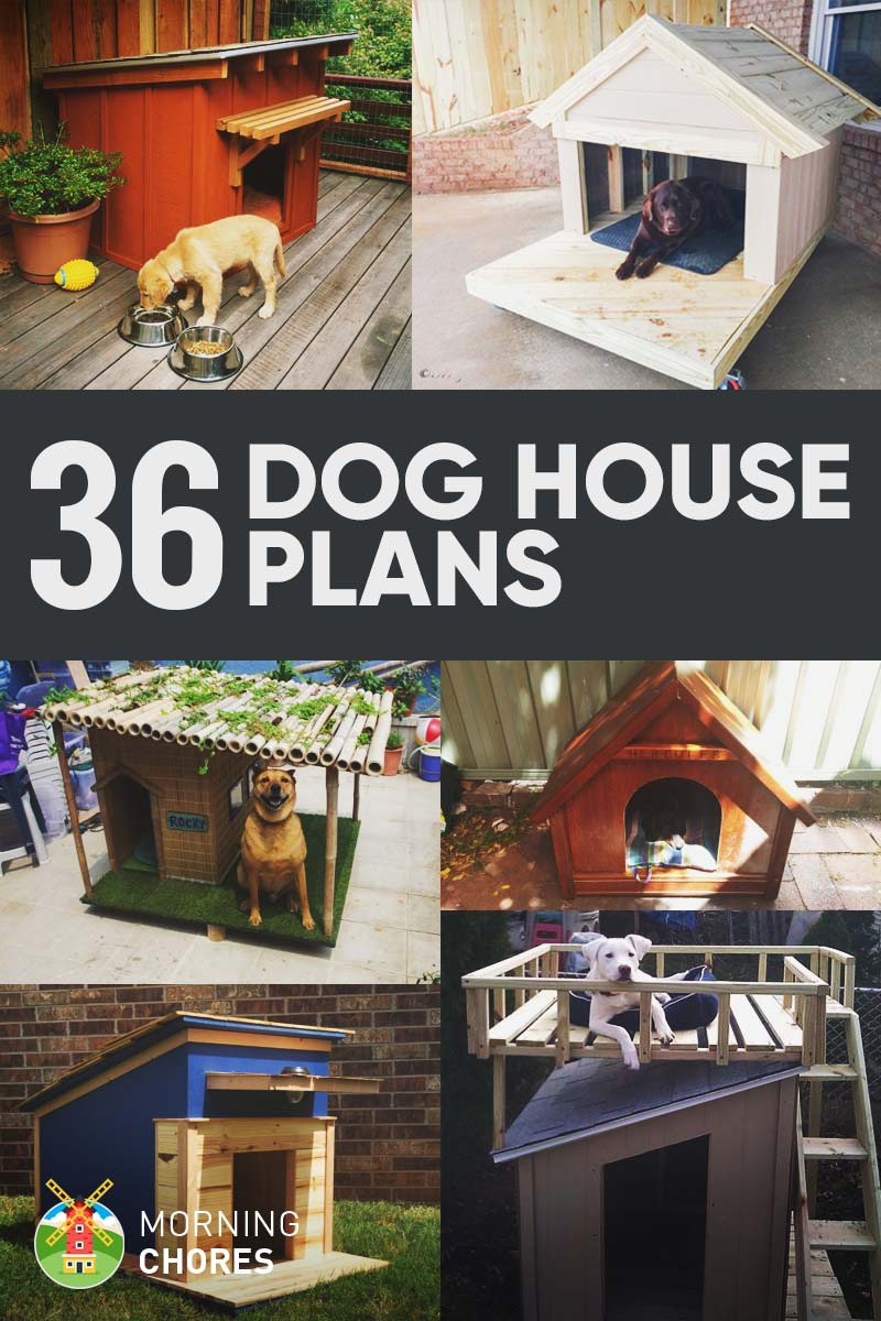 Insulated Dog House Plan Awesome 36 Free Diy Dog House Plans & Ideas for Your Furry Friend