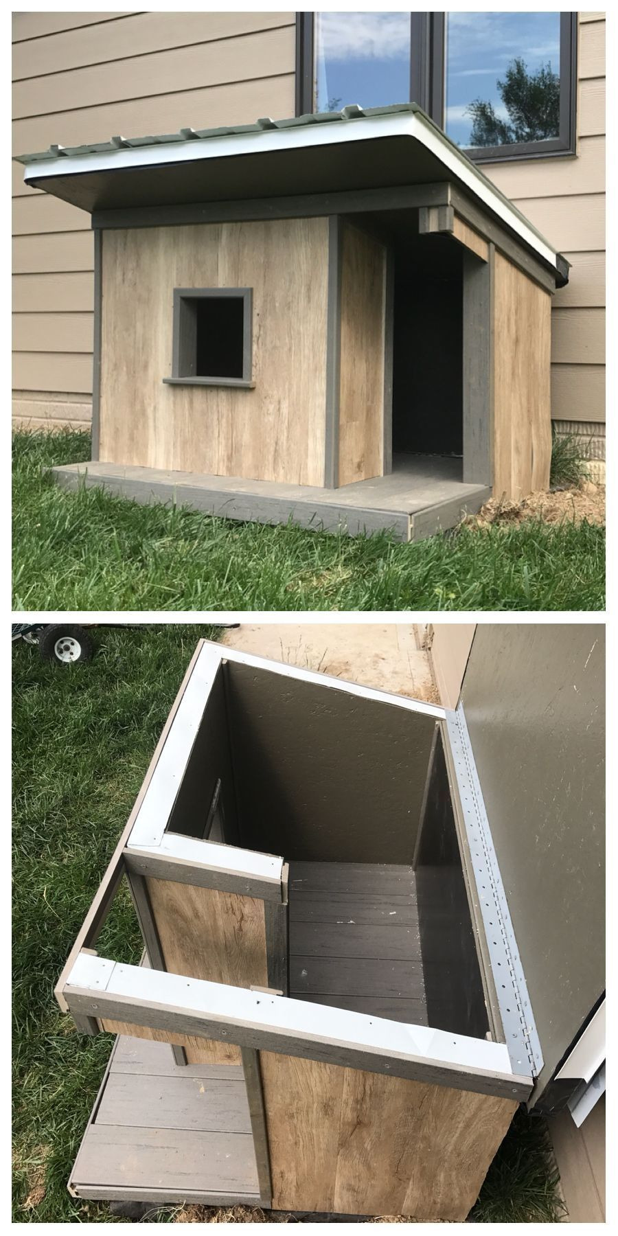 Insulated Dog House Plan Beautiful Cold Weather Dog House Plans Con Imágenes