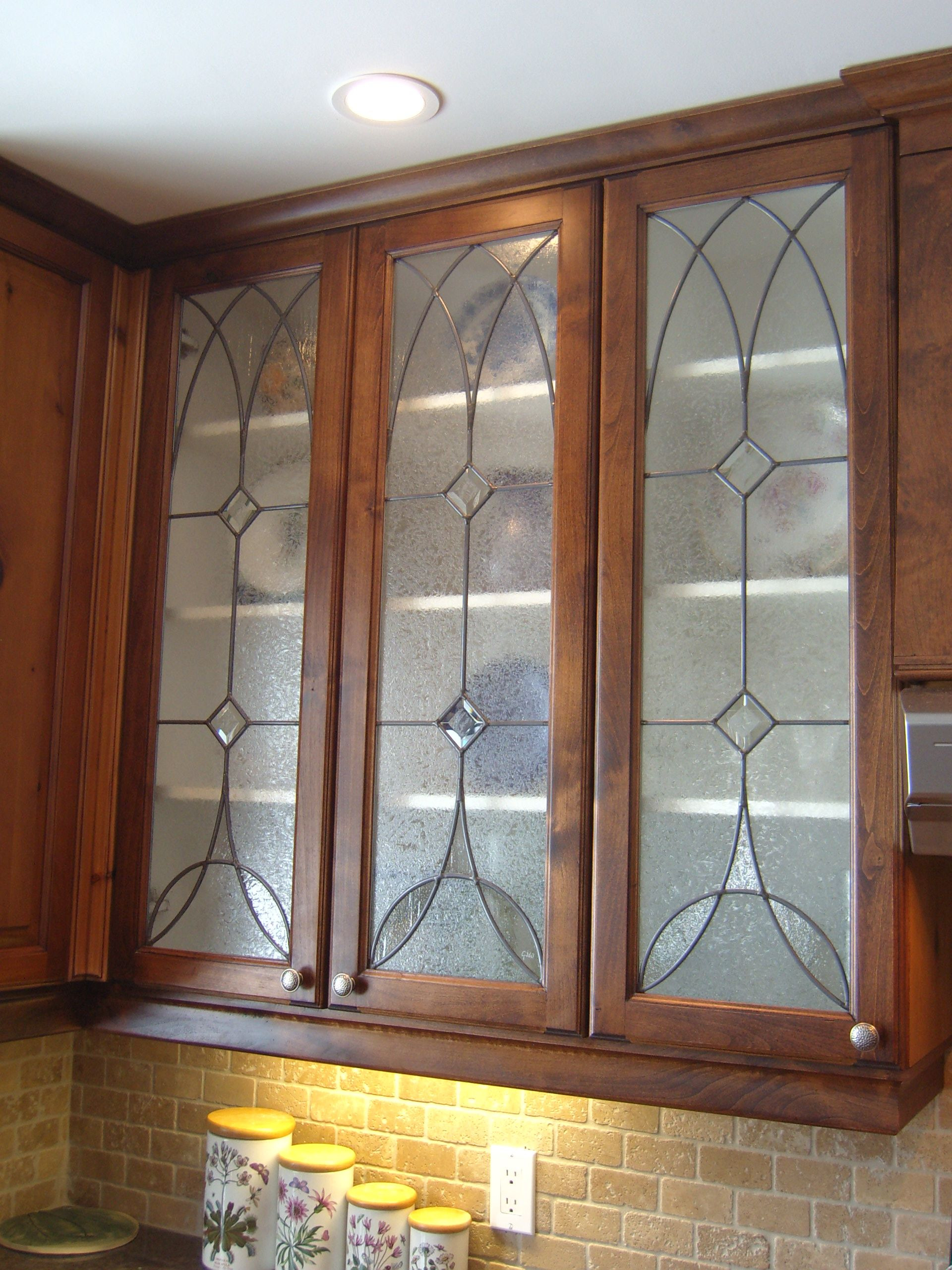 Kitchen Cabinet Doors with Glass Panels Awesome Kitchen Cabinet Stained Glass Panels by Gary Wilkinson