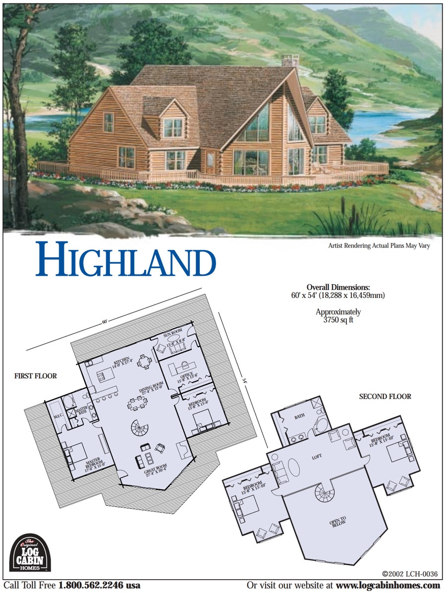 highland floorplans