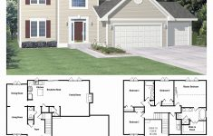 Luxury Two Story House Plans Elegant Bed Story House Plans With Bedrooms Toddler Twin Bathroom