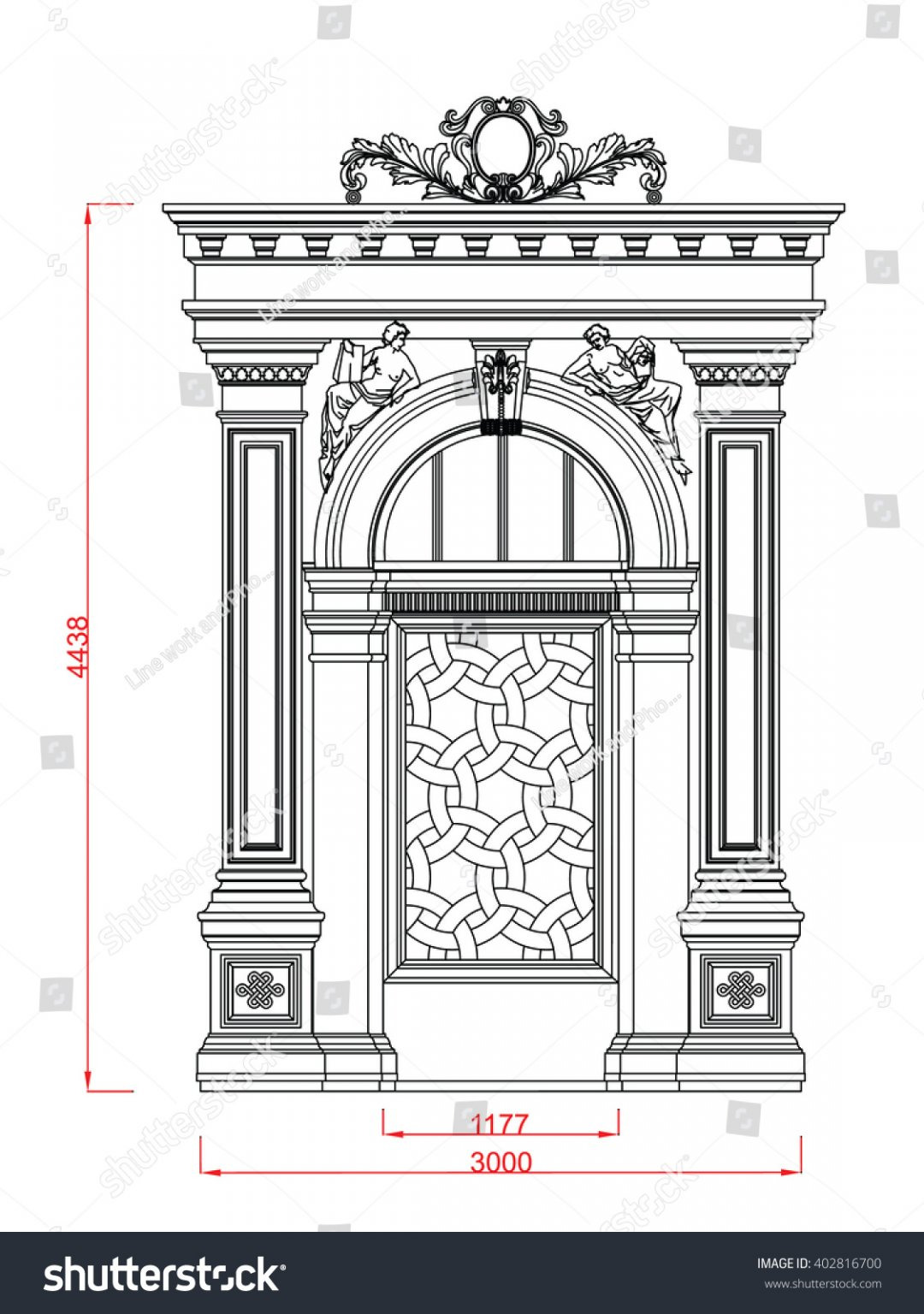 colony main gate design best for home architectural entrance stock vector and door line work black paint with dimension ideas designs pakistani front entry modern arch wedding 1080x1536