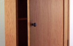 Medicine Cabinet Door Luxury Shaker Style Surface Mounted Medicine Cabinet Cherry Oak Or Maple Finished