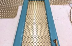 Metal Cabinet Door Inserts Inspirational How To Add Wire Mesh Grille Inserts To Cabinet Doors The
