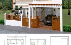 Model House Design Pictures Awesome House Plans 7x12m With 4 Bedrooms Plot 8x15