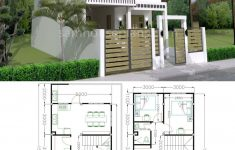 Model House Design Pictures Awesome House Plans 7x15m With 3 Bedrooms In 2020