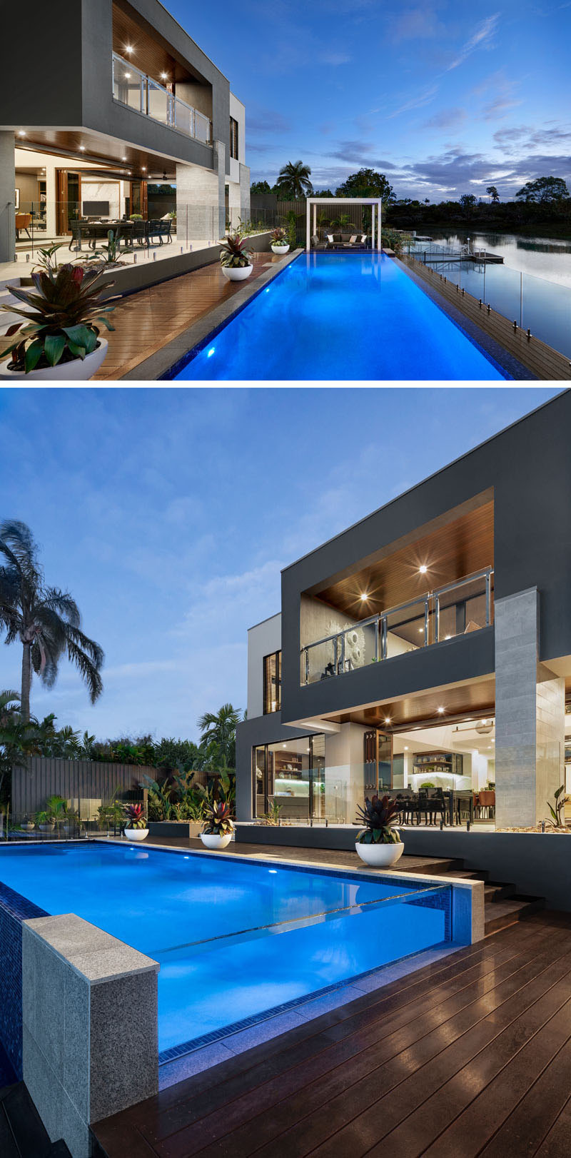 modern house design architecture swimming pool 1253 05
