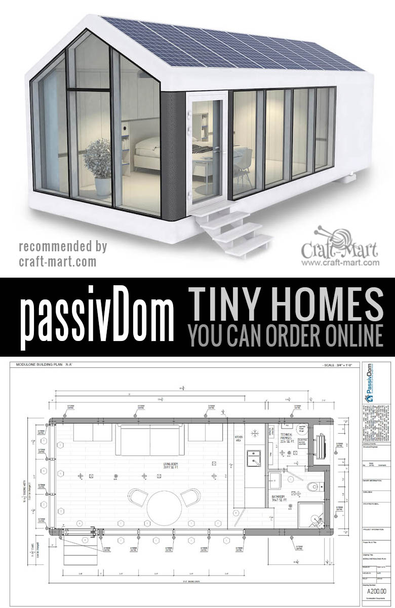 38 prefab tiny homes passivDom 2
