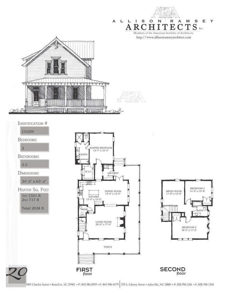 Most Popular One Story House Plans 2021