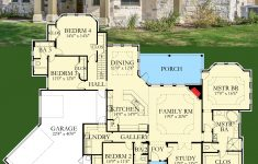 Most Popular One Story House Plans New Architectural Designs House Plan Hj Has A 2 Story Study