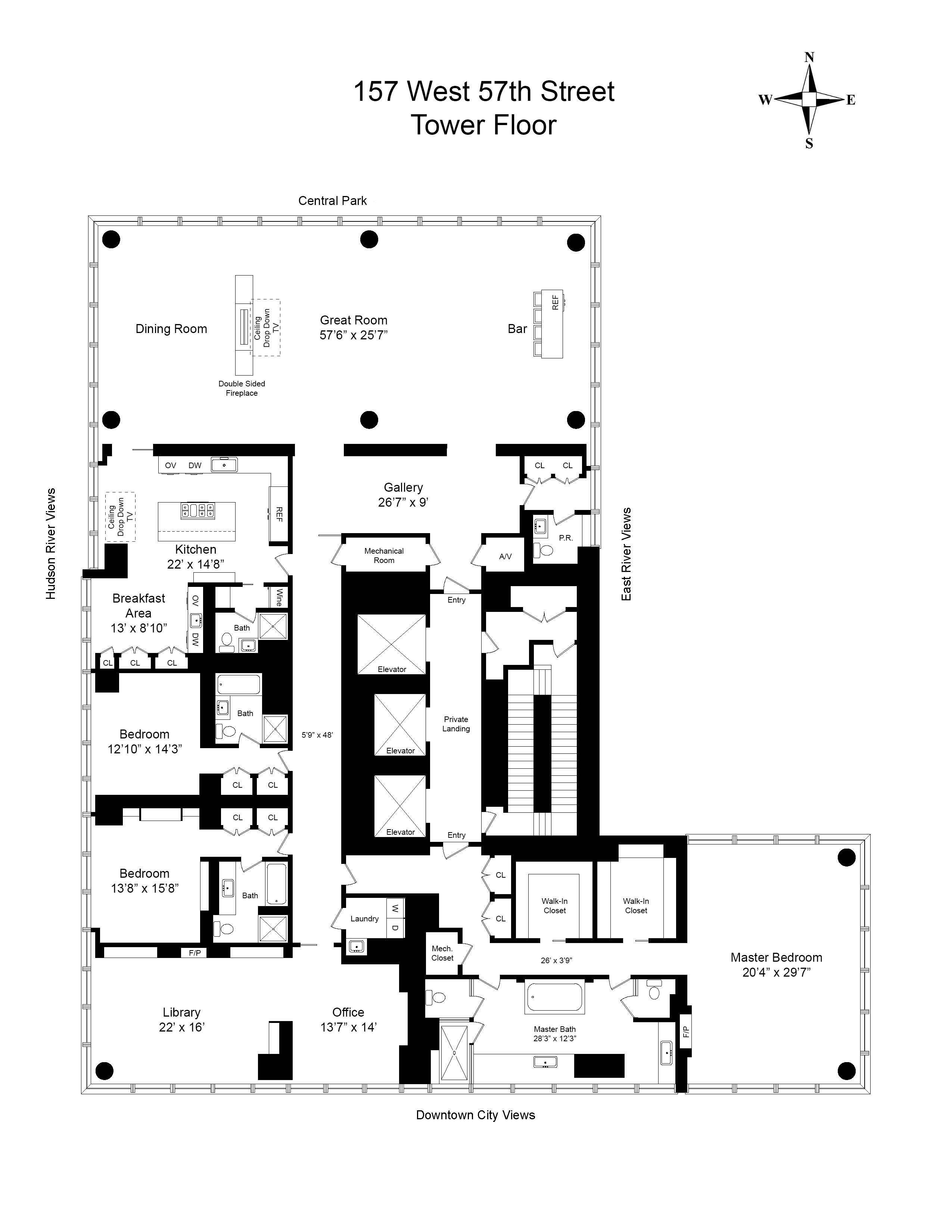 New York House Plans Awesome Floor Plan Image 0