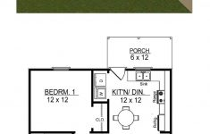 One Story 2 Bedroom House Plans Best Of Traditional Style House Plan With 2 Bed 1 Bath