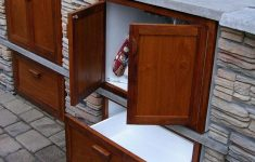 Outdoor Cabinet Doors Awesome Outdoor Kitchen Storage Furniture Patio Pvc Cabinets Outside