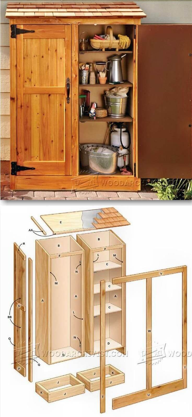 Outdoor Storage Cabinets with Doors Fresh 27 Best Small Storage Shed Projects Ideas and Designs for 2020