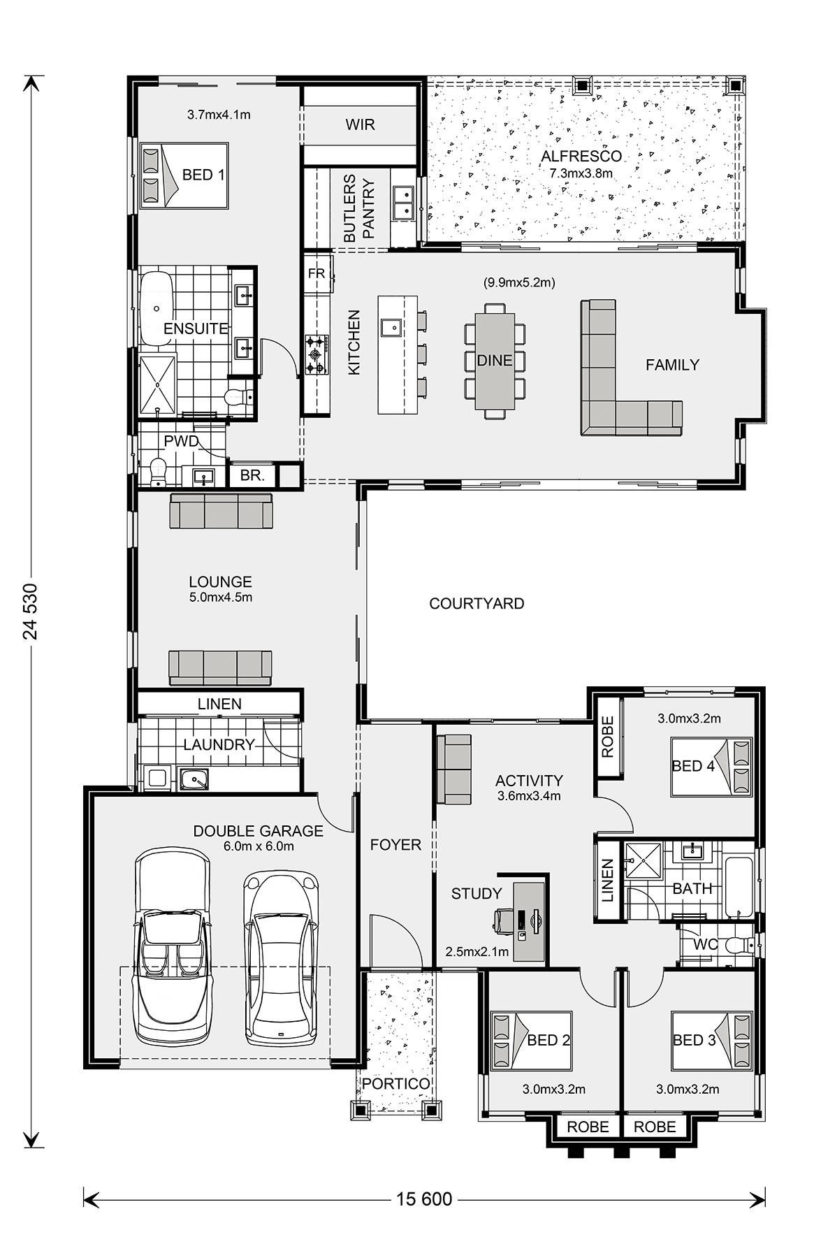 Plan for Building A House Lovely Mandalay 335 Home Designs In Newcastle
