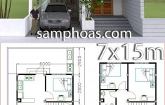 Plan Of Houses Architecture Unique Home Design Plan 7x15m With 4 Bedrooms
