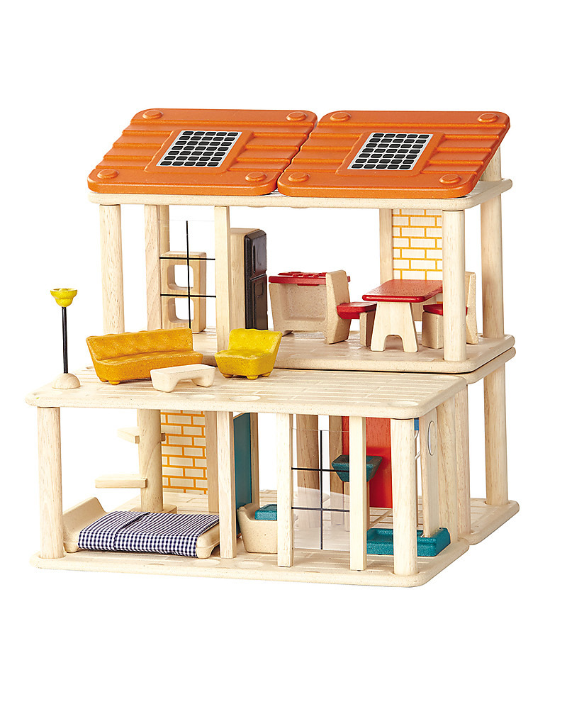 Plan toys Play House Inspirational Plantoys Wooden Creative Play House Includes 28 Pieces Girl