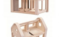 Plan Toys Wooden Doll House Unique Plantoys Wooden Slide N Go Dollhouse Portable With