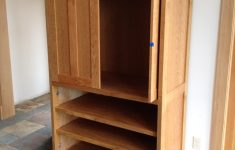 """Pocket Cabinet Doors Awesome Cherry """"prairie"""" Media Cabinet With Pocket Doors"""