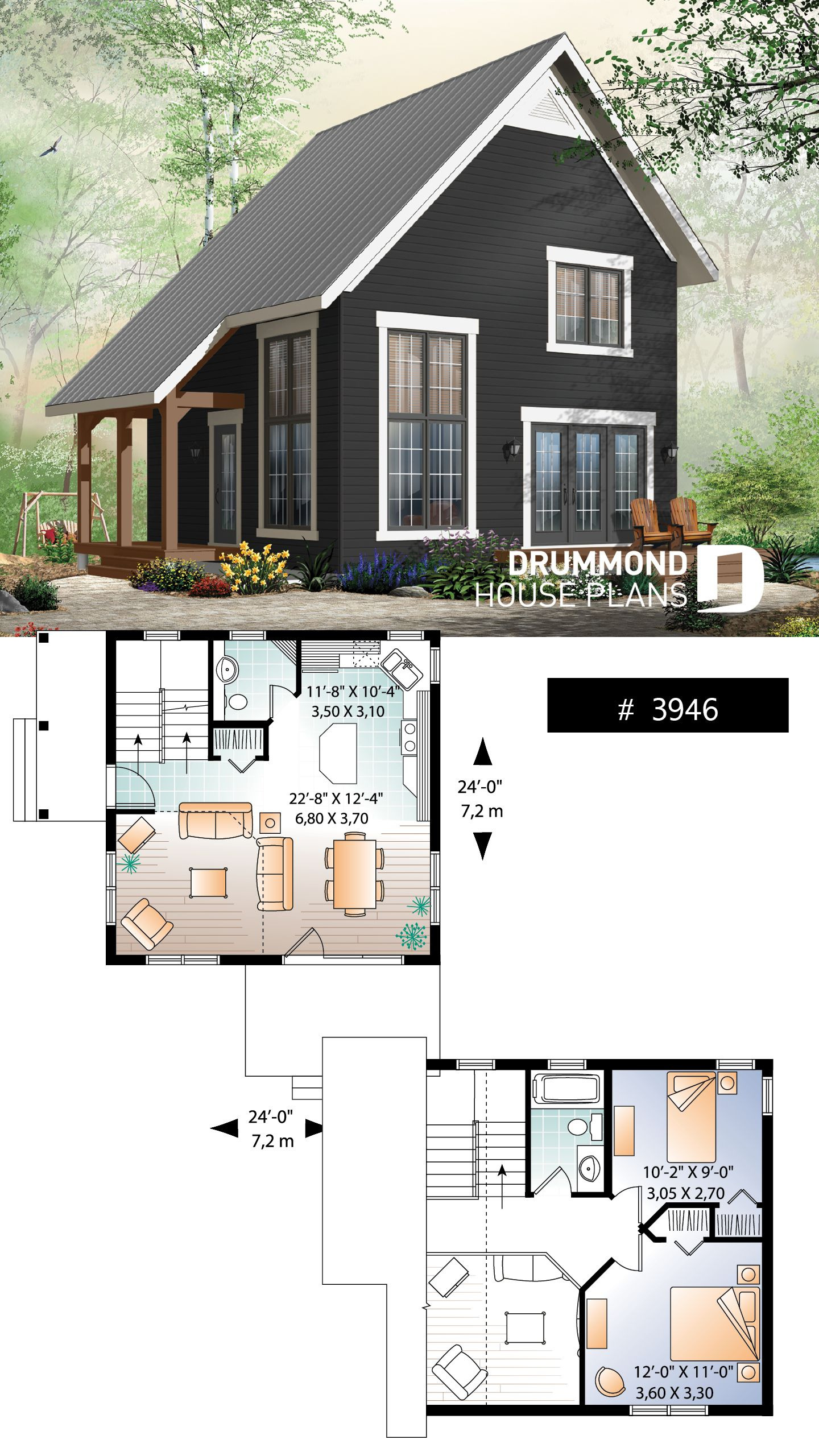 Really Small House Plans Fresh House Plan Willowgate No 3946 with Images